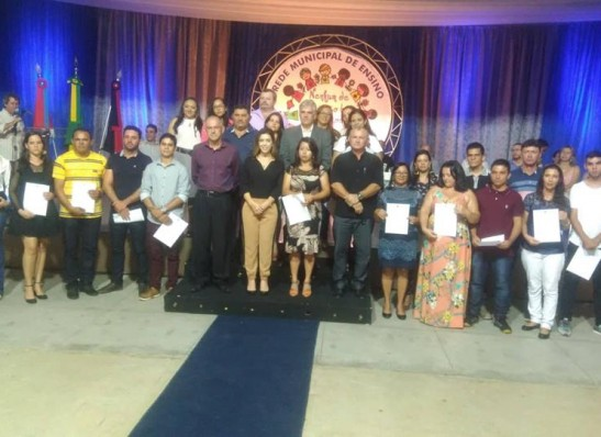 Vereadores de Monteiro prestigiam abertura do ano letivo 2019 da Rede Municipal