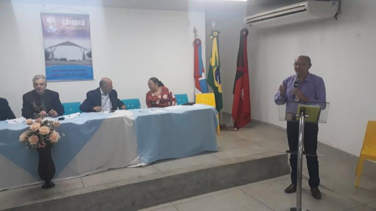 Câmara Municipal promove sessão itinerante para debater demandas das pessoas com deficiência em Monteiro.