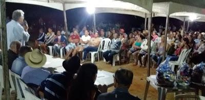 Presidente da Câmara enaltece sucesso das sessões itinerantes por público recorde na Pitombeira