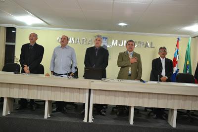 Câmara Municipal realizou sessão solene pelos 26 anos de AA em Monteiro.