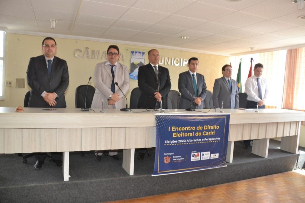 Câmara de Monteiro sedia 1º Encontro de Direito Eleitoral do Cariri.