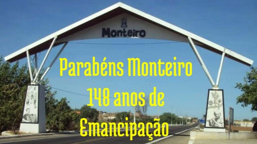 Monteiro, 148 anos de Emancipação Politica.