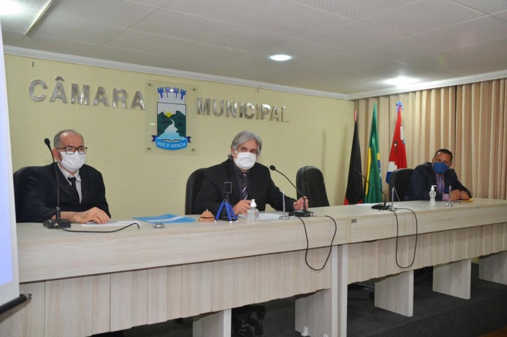 Câmara Municipal de Monteiro retoma sessões ordinárias com todas as medidas de prevenção