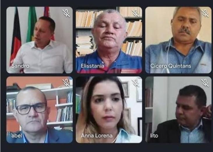 Em Audiência Pública remota. Câmara de Monteiro convoca debate para ações de combate ao Covid-19.