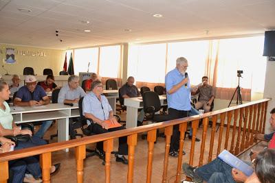 Câmara de Monteiro recebe Secretario de Estado da Agricultura Familiar Luis Couto